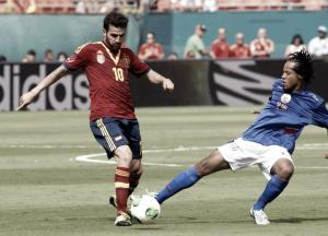 Courte victoire de l'Espagne contre Haïti