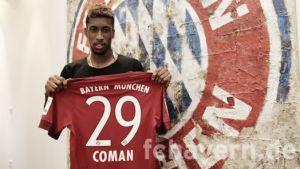 Kingsley Coman llega al Bayern