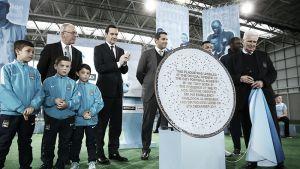 El Manchester City presenta su academia