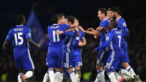 Chelsea 5-0 Everton: Blues' five-star performance against deflated Toffees sends them top