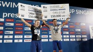 Segunda jornada de la FINA Swimming World Cup 2017 en Singapur