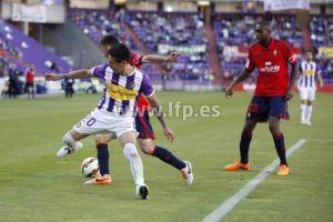 Real Valladolid - Osasuna: puntuaciones del Real Valladolid, jornada 38