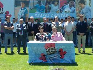 """Carlos Mouriño: """"Oubiña nos ha dado una lección de abnegación, dedicación y esfuerzo"""""""