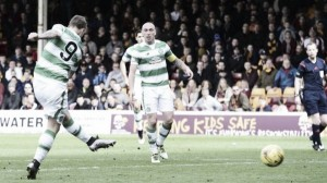 Motherwell 1-2 Celtic: Griffiths double extends Bhoys lead at the top to eight points