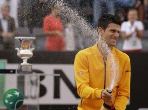 Djokovic roi de Rome