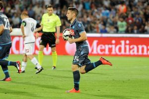 Napoli - Cesena 3-2: vittoria azzurra grazie ad un super Mertens