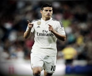 James despide su primera temporada en el Real Madrid con una joya