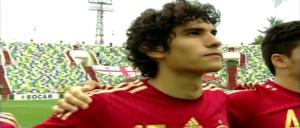 Jesús Vallejo, titular y goleador con la Sub-19