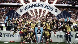 L'Arsenal strapazza l'Aston Villa e conquista la FA Cup. Finisce 4-0 al Wembley Stadium