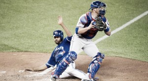 Cleveland Indians acquire Chris Gimenez from Texas Rangers