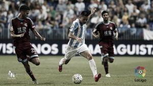El Málaga CF sale del descenso dos jornadas después