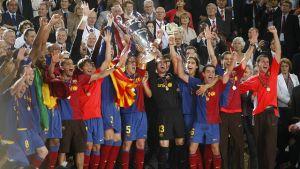 Quinto aniversario de la Champions de Roma