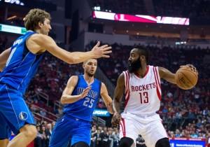Resultado Houston Rockets - Dallas Mavericks en la NBA 2016 (115-104)