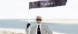 Karl Lagerfeld y su particular oasis en Dubai