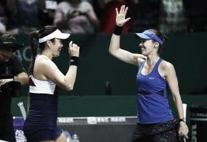 WTA Finals: Chan Yung-jan and Martina Hingis stroll to comfortable victory