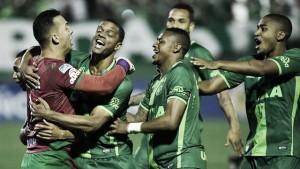 Chapecoense, la grata revelación brasileña en la Copa Sudamericana