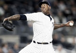 Chicago Cubs strengthen bullpen, acquire Aroldis Chapman from New York Yankees