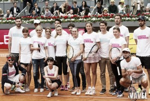 Éxito manifiesto del Charity Day del Mutua Madrid Open