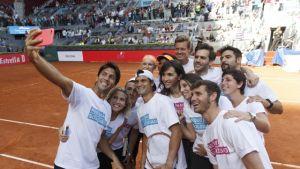 Exitoso arranque del Mutua Madrid Open con el 'Charity Day'