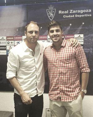 Joel Méndez es el primer refuerzo del Real Zaragoza B