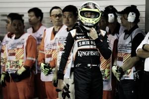 """Sergio Pérez: """"Mi intención es seguir un año más en Force India"""""""