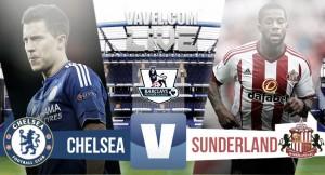 Chelsea - Sunderland en Premier League 2015 (3-1): victoria en el primer día después de Mourinho