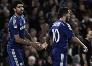 """Hazard alerta para personalidade de Diego Costa: """"Precisa se concentrar"""""""
