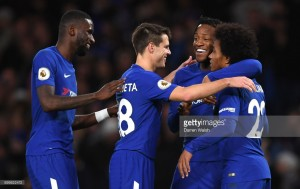 Chelsea 5-0 Stoke City: Blues fire five past damp Stoke