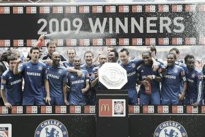 2009, última Community Shield 'blue'