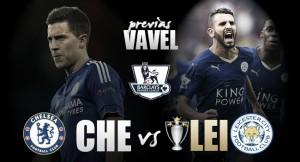Chelsea - Leicester: la toma de posesión