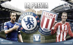Chelsea - Stoke City: a complicarle la vida al líder