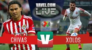 Resultado Chivas - Xolos Tijuana en Liga MX (1-1)