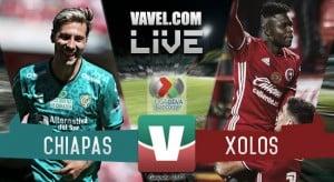 Partido Chiapas 1-0 Xolos en Liga MX 2017