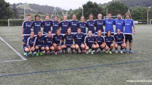 Las jugadoras de la Real Sociedad ponen rumbo a Andorra