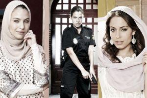 Hiba Abouk, María Guinea y Thais Blume, princesas de la pequeña pantalla