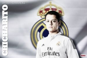 Chicharito se marcha cedido al Real Madrid