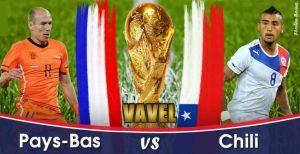 Live Pays-Bas - Chili, la Coupe du Monde 2014 en direct