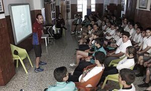 El colegio Chiner Villarroya conoce el Proyecto Di_Capacidad
