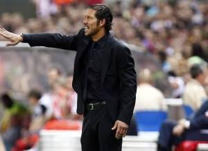 """Simeone: """"Está todo abierto, podemos ganar en el Camp Nou"""""""