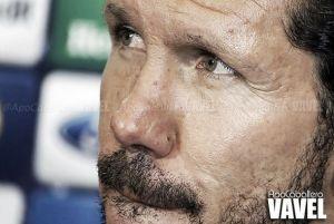 """Simeone: """"Le doy mucho valor al empate porque es de los mejores partidos que hicimos"""""""