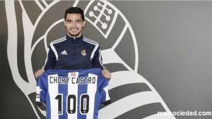El Chory Castro, a por los 100 partidos con la Real