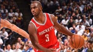 NBA - Reset, Chris Paul è arruolabile. Houston finalmente al completo