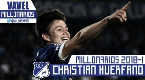 Millonarios 2018-I: Christian Huérfano