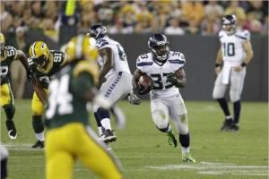 Los Seahawks derrotan reñidamente a los Packers y se mantienen perfectos.
