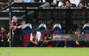 Frank de Boer critical of Crystal Palace's lack of courage