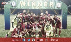 Álex Millán y Darío Ramos, campeones de la Copa Presidente con la Sub-16