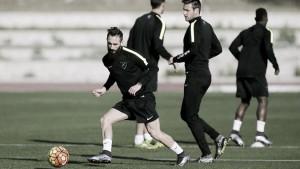 Cifu ya entrena con el Málaga CF