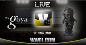 Nominados a los Goya 2015 en directo
