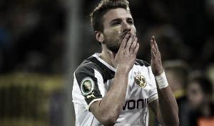 Immobile alla riscossa: doppietta e sorrisi, Dortmund avanti