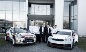 Presentado el equipo Citroën Racing de cara al WRC
